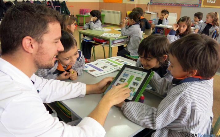 Una clase en Escolapios. / CNSP
