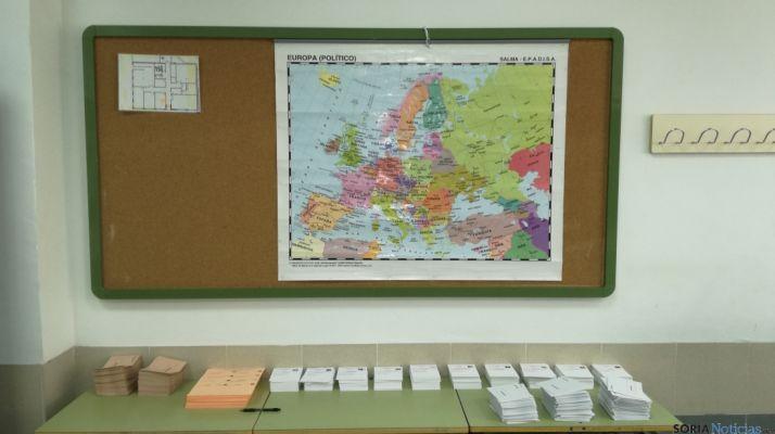 Papeletas electorales de Soria. SN