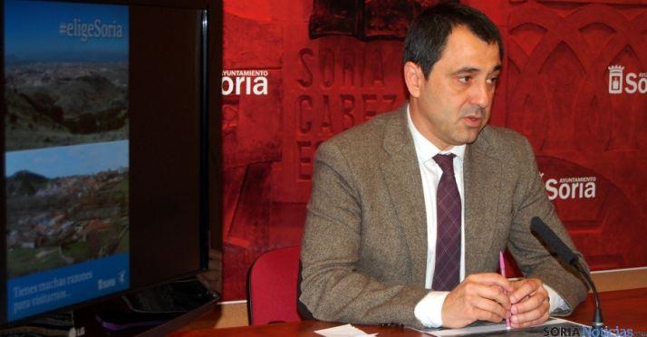 El concejal de Hacienda y Comercio, Javier Muñoz. / SN