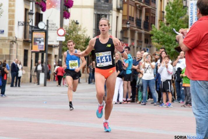 La atleta del CAEP Estela Navascués./SN