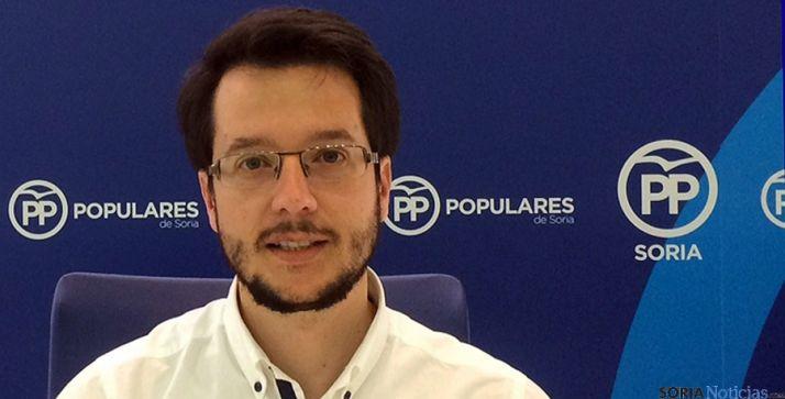 Tomás Cabezón, candidato al Senado del PP soriano. / SN