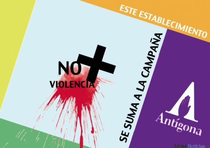 Campaña 'No + violencia' de Antígona