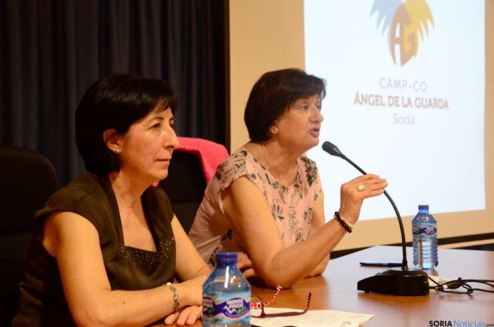 Blanca Herrero y Mª Paz Gil. /Junta