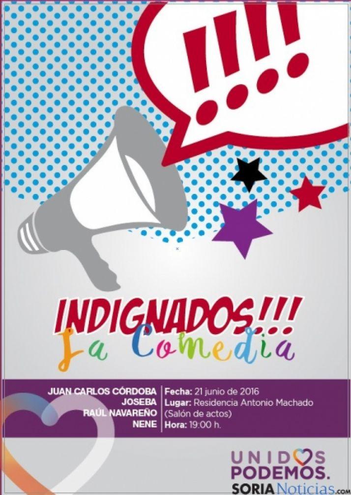 Foto 1 - Podemos ofrece la representación teatral 'Indignados'