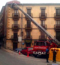 Los bomberos en Jurados de Cuadrilla./SN