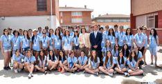 Los alumnos de Bachillerato participantes en la cita. / Jta.