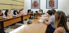 Imagen de la reunión en la Consejería.