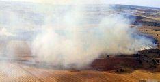 Vista aérea del incendio./Jta.