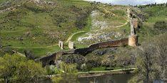 Un tramo de la muralla de Soria./SN