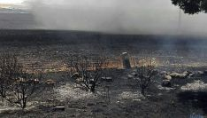 Imagen del incendio en Noviercas. / SN