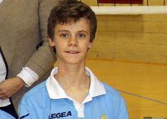 El joven jugador del Río Duero./CVRD