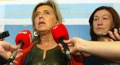 Salgueiro ante los medios de comunicación junto con la subdelegada, María José Heredia. / SN