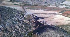 Imagen del área quemada./Jta.