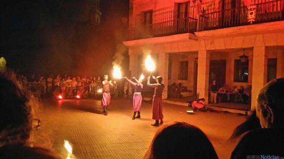 La despedida de las fiestas estivales en Almazán.