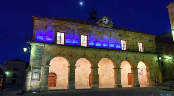 El Palacio de la Audiencia, en Soria capital. / SN