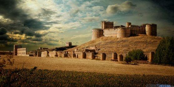El castillo de Berlanga de Duero, imagen representativa de la localidad. / Ana Isla