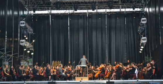 Imagen del concierto celebrado esta tarde. /SN