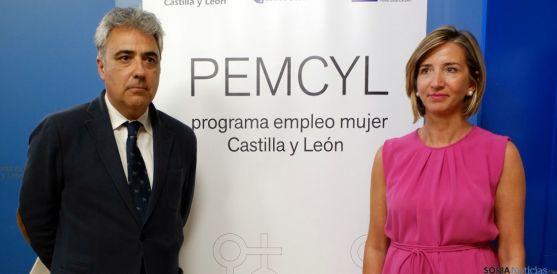 Alicia García y Juan C. Prieto este miércoles. / Jta.