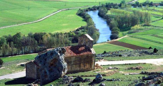 Ermita de San Miguel, en Gormaz, uno de los monumentos abiertos.