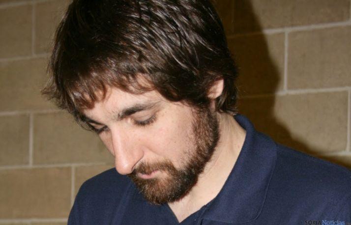 Bernal, nuevo jugador del Río Duero./CVRD