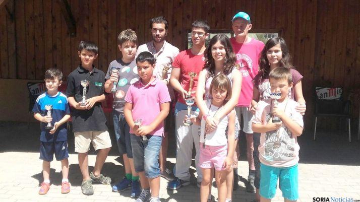 Los participantes del torneo.