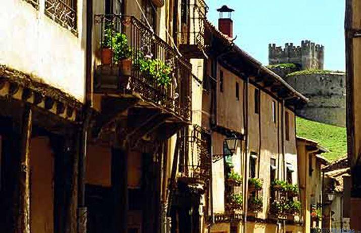 Una de las calles de Berlanga.