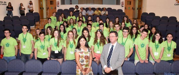 Alumnos participantes y responsables del curso. / Jta.