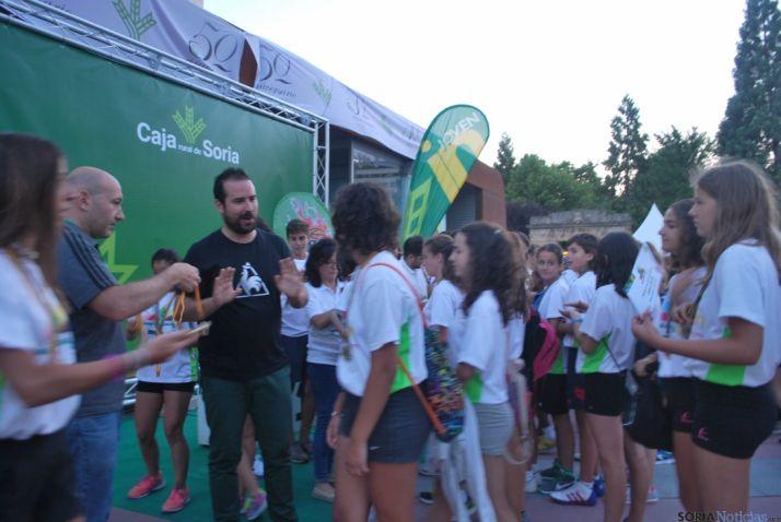 Imagen de la última jornada de las Miniolimpiadas Joven In. / SN