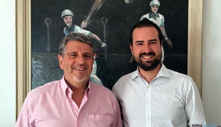 Angel Hdez. (dcha.) y Julián García./FIVP