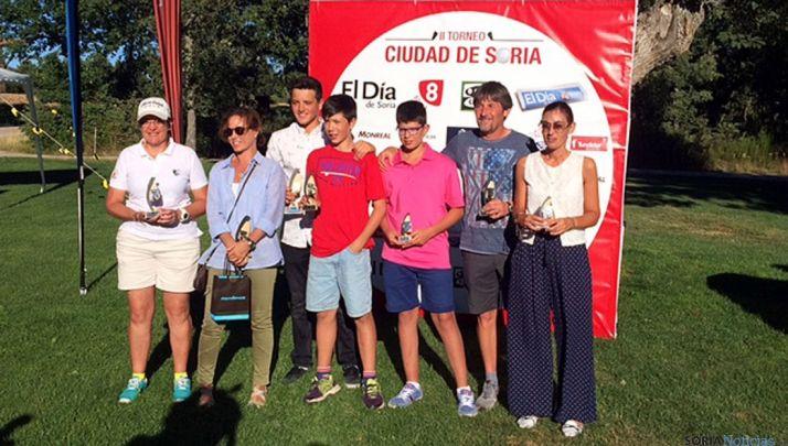 Los ganadores del torneo.