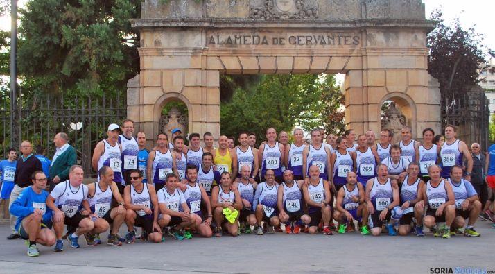 Miembros del club Puente del Canto./SN