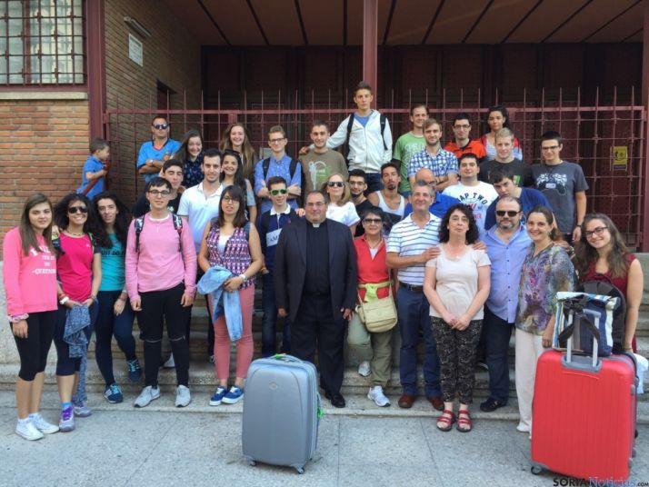 Es el segundo grupo que viaja desde Soria a la JMJ 2016