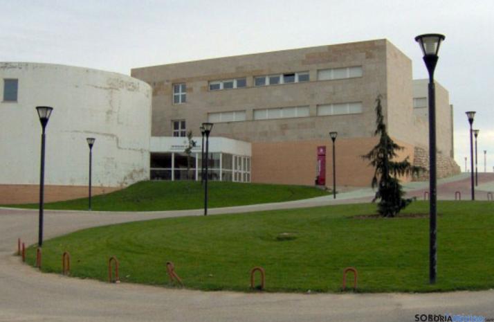 Instalaciones del Campus de Soria. /Archivo