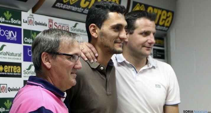 Juanma, entre Rubio y Palacios./SN
