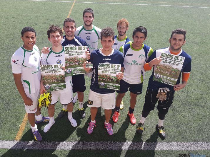 Imagen de algunos jugadores del equipo. /CEDIDA