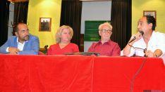 Luis Rey, Asunción Medrano, Luis Heras y Ángel López. /SN