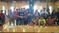 Imagen de los participantes del torneo. /Golden Pawns