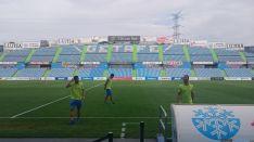 Imagen del Coliseum Alfonso Pérez. Tw Getafe