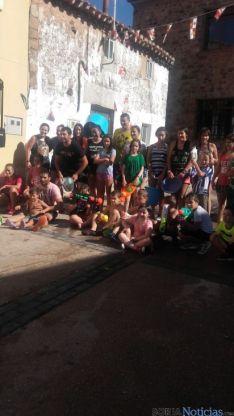 Imagen de las fiestas del barrio de Las Casas.