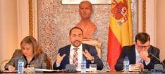 Pleno de la Diputación de Soria.