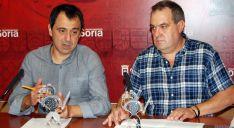 Muñoz (izda.) y De Pedro. / Ayto.