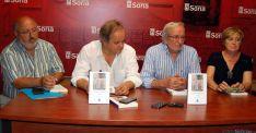 Mtnez. (izda.), Santillán, Bárez y Molina. / Ayto.