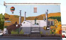 Mural de Pintura en Abión