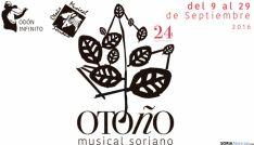 Cartel de la XXIV edición del Otoño Musical Soriano.