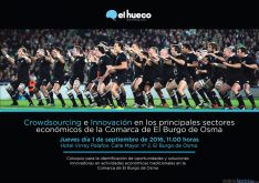 Cartel promocional promovido por El Hueco.