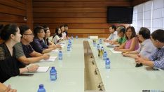 Encuentro para impulsar el comercio agroalimentario con China. /Junta