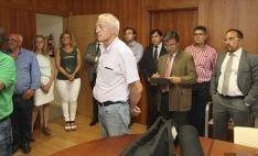 Visita del consejero de Fomento a Soria