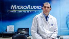Juan Ignacio Osuna, audioprotesista de Microaudio en Multiópticas Monreal, Soria.