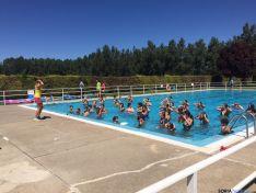Actividad de acuagym en Monteagudo