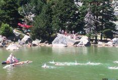 Imagen de la prueba en la Laguna Negra